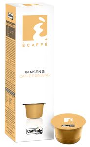 CAFFITALY 10 CAPSULES ECAFFE GINSENG KOFFIE