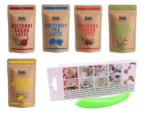 KIT FONTE LATTE ART SUPER FOOD POWDER + SPICE PEN