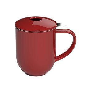 LOVERAMICS PRO TEA MUG MET INFUSER & DEKSEL 300ML RED